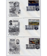 THE CIVIL WAR FIRST DAY COVER SET OF 10 - £28.64 GBP