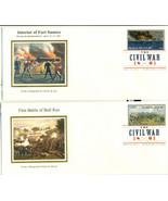 THE CIVIL WAR FIRST DAY COVER WITH DIGITAL COLO... - $75.00