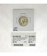 1964 United States Washington Quarters Dollar 90% Silver RATING: (F) Fin... - $70,03 MXN