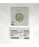 1964 United States Washington Quarters Dollar 90% Silver RATING: (F) Fin... - $3.73 CAD