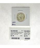 1964 United States Washington Quarters Dollar 90% Silver RATING: (F) Fin... - ₹198.27 INR