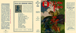 Burroughs, Edgar Rice. THE ETERNAL LOVER facsimile dust jacket for 1st G... - $23.51