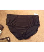 New CROFT & BARROW Womans  Plus sz 26w black swimsuit nwt bottom - $13.99