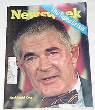 ARCHIBALD COX RICHARD NIXON NEWSWEEK MAGAZINE VINTAGE 1973 - $29.99
