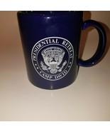 Royal Blue Presidential Retreat Camp David Coffee Mug Made USA Eagle on ... - $25.95