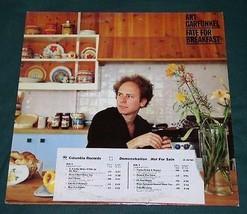 Art Garfunkel Promotional Record Album Vintage 1979 Fate For Breakfast - $39.99