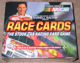 RACE CARDS STOCK RACING CARD GAME 1999 TDC GAMES FACTORY SEALED BOX - $10.00