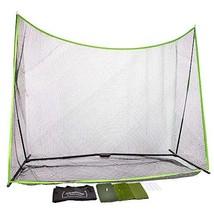 albatross Golf Practice Net 10' x 7' x 3' and 3 Surface Hitting Mat Bundle - $160.42