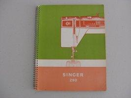 SINGER MODEL 290 INSTRUCTION MANUAL - $25.00