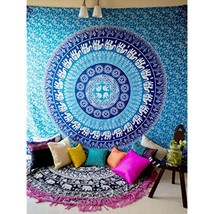 Decor Mandala Wall Hanging Tapestry Bedspread Hippie Indian Bohemian Throw Spa - $23.33