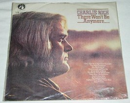 Charlie Rich Tawian Import Record Album Vintage There Won't Be Anymore - $24.99