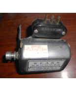 Kenmore 158.321 Motor 1.2 Amp #5187 w/Pulley, Mount & 3 Pin Sears Termin... - $18.50