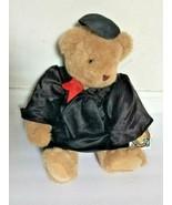 Vermont Teddy Bear Graduation Cap Gown Graduate Plush Stuffed Animal Sof... - $99.99