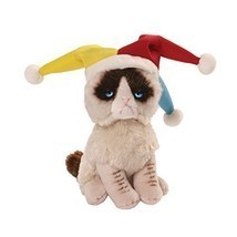 Gund Grumpy Cat Jester Beanbag Stuffed Animal P... - $12.87