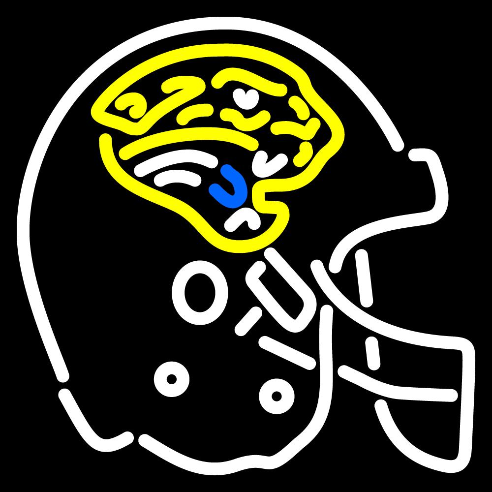 nfl jacksonville jaguars helmet logo neon sign. Cars Review. Best American Auto & Cars Review