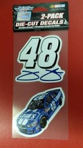 "NASCAR Jimmie Johnson Perfect Cut Decal Set Of Two 4"" x 4"" - $7.83"