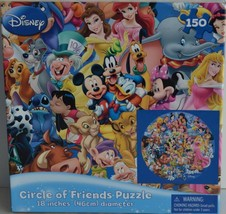 Cardinal Industries ~ Disney ~ Circle of Friends ~ 150 Piece Puzzle Seal... - $16.95