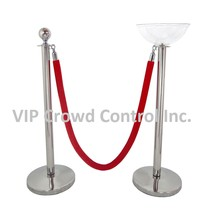 STANCHION MERCHANDISING BOWL, VIP Crowd Control - $39.99