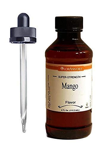 Primary image for LorAnn Super Strength Mango Flavor 4 ounce bottle Includes Child Resistant...
