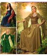 Simplicity 4940 Womans 20 to 26 Reenactment Pattern Lord of the Rings Ha... - $9.95
