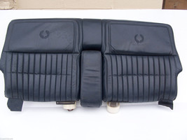 1985 ELDORADO BLUE REAR SEAT BACK OEM USED WEAR ORIG CADILLAC - $233.64