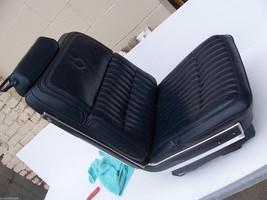 1985 ELDORADO BLUE RIGHT SEAT SPLIT BENCH OEM USED WEAR ORIG CADILLAC - $312.84