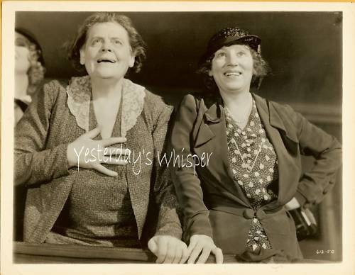 1932 Movie Photo Marie Dressler BOY in DRAG Prosperity