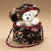 "Boyds Bears ""Verna w/Hatbox"" #904709 - 8"" Hatbox Bear- NWT- 2007 - $29.99"