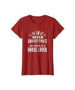 New Shirts - Never Underestimate The Power of A Horse Lover T-shirt Wowen - $19.95