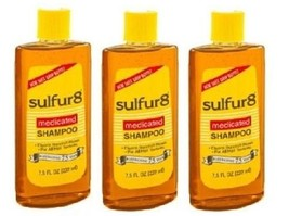 Sulfur 8 Medicated Shampoo 3 Bottle Pack - $26.68