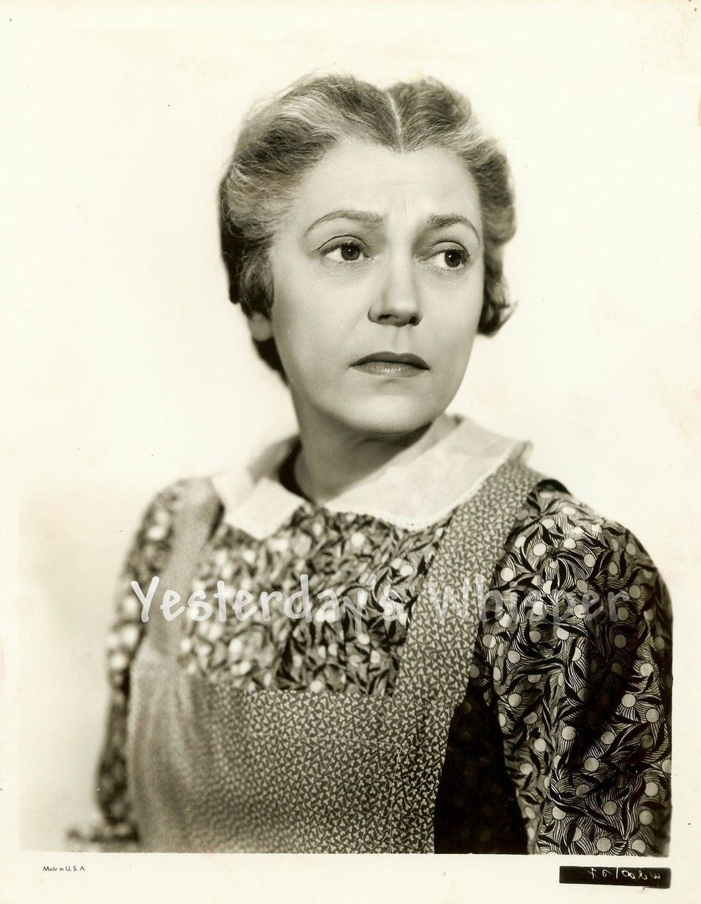 Alice BRADY In Old Chicago Original c.1937 Studio Movie Photo