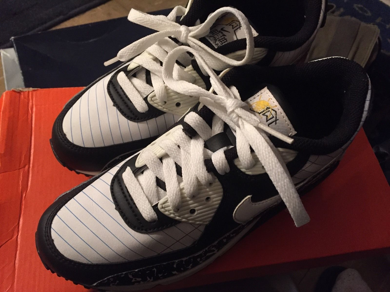 cheap for discount 3ad4e f5d59 Nike Air Max 90 Classic Premium Youth Kids and 50 similar items. S l1600