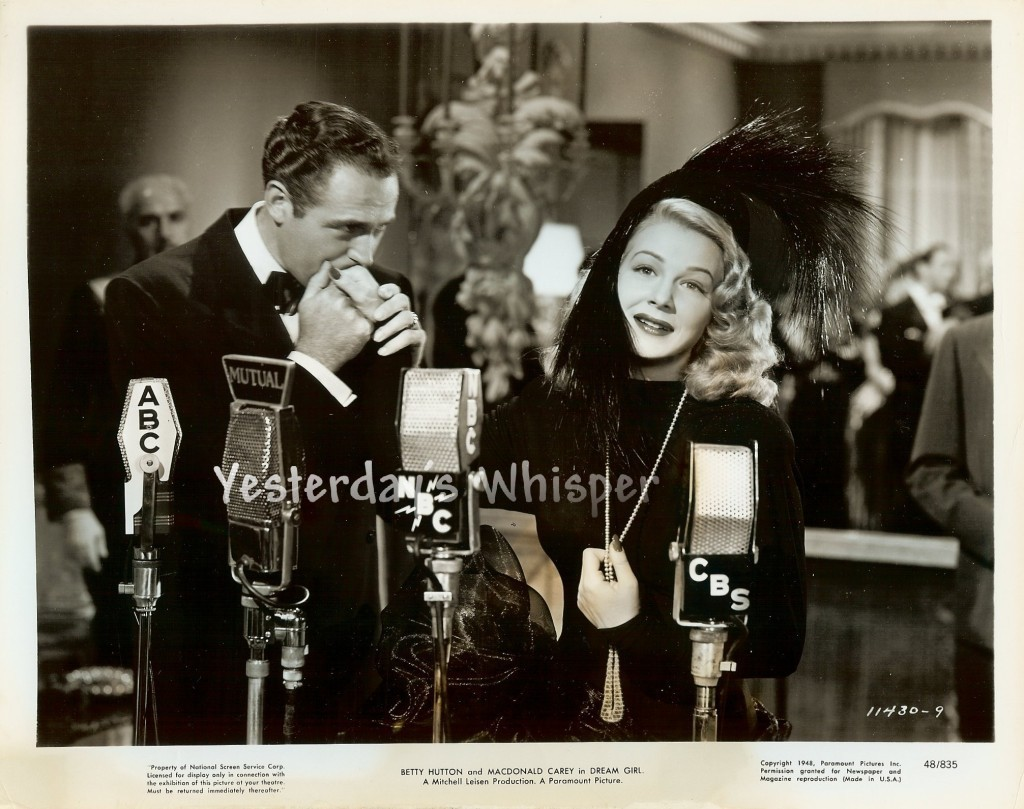 Betty HUTTON Delightfully hand KISSED Dream GIRL Original 1948 Paramount Photo