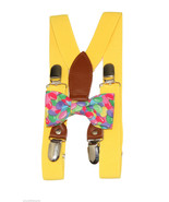 Jelly Beans Clip On Bow Tie and Yellow Elastic ... - $18.95