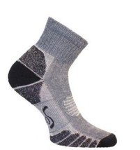 Eurosocks 3356 CoolMax Walking and Camping Lightweight Quarter Socks, Na... - $15.50