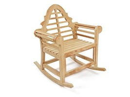 """Windsor's Genuine Grade A Teak Lutyens Rocking Chair 36""""W/40lbs,LIST $1150 SALE! - $695.00"""