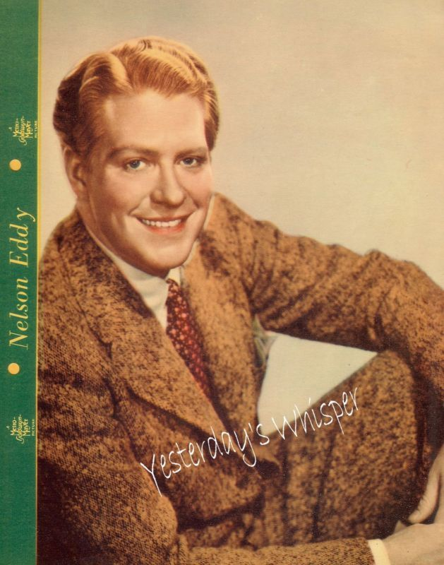 Dixie Premium Photo 1930s Actor Star Nelson Eddy