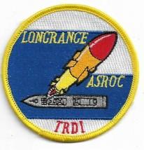 US Navy Longrange ASROC Anti-Submarine ROCket Vintage Patch - $11.87