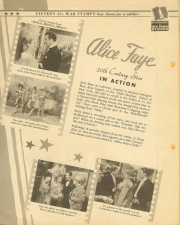 Dixie Premium Photo 1940s Actress Star Alice Faye