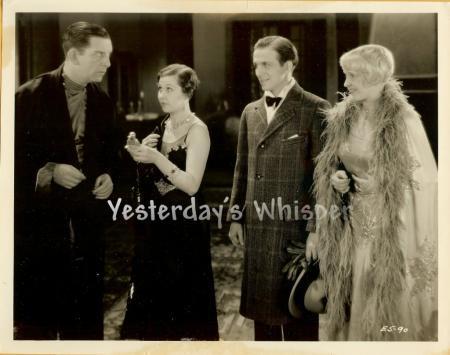 Edward Everett Horton Unidentified Unknown 2 Original 1930 Movie Photos