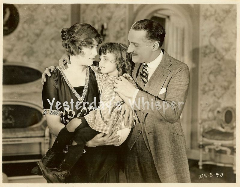 Florence Billings Ernest Hilliard Original Silent Photo
