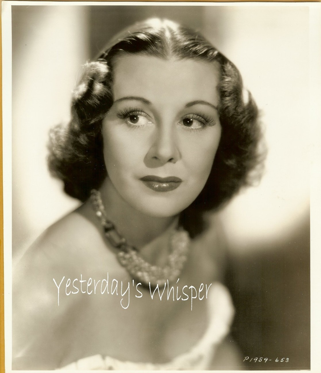 Gorgeous Gladys SWARTHOUT Opera Diva ORIGINAL 1930's GLAMOUR Photo