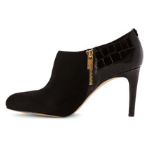 New Michael Kors Sammy Embossed Leather & Suede... - $83.22