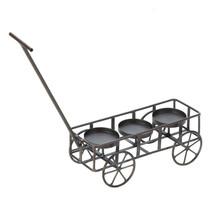Garden Wagon Candleholder   10015297  SMC - $15.95
