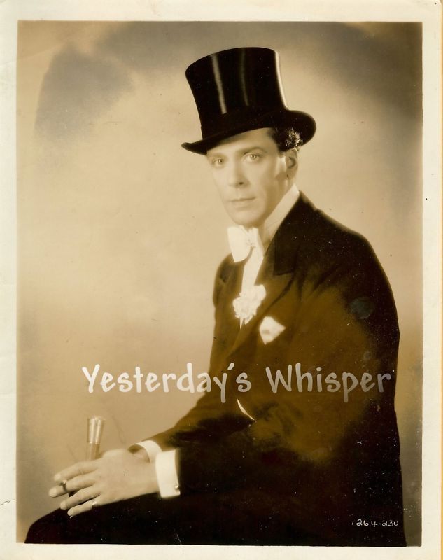 Jack Buchanan Lubitsch Monte Carlo 1930 Original Photo