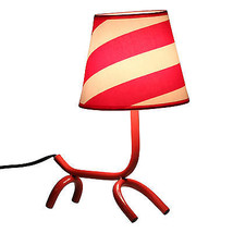 Woof Dog Table Lamp Abstract Dog layout Table/Desk  - $59.99
