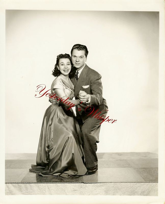 Jane Withers Jackie Cooper RARE AL Whitey Schafer Photo