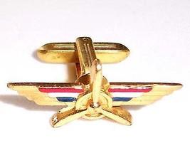 HICKOK tm. propeller and wings cufflink - $6.88