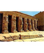 1970's Temple of Ramses III, Thebes, Egypt - $3.91