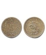 1936 - M Mexico 5 Centavos - VG - €3,15 EUR